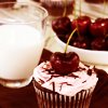 clockwrkheart: Cherry Topped Cupcake (cherry)