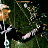 hasthehighground: sighting his target ([tool] compound bow)