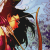 shanaqui: Kate from Young Avengers as Hawkeye, taking aim. ((KateYA) Hawkeye)