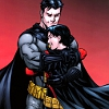 themeletor: batman/bruce wayne hugging red robin/tim drake (bat-hugs)