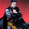 themeletor: batman/bruce wayne hugging red robin/tim drake (bat-hugs, snookums, nawwwww)