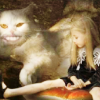proserpere: Creepy kitty pulls your strings (living doll & creepy kitty)