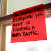 hellkitty: (be kind/hard battle)