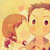 noletters: (Nanako/Ryo; kissu)