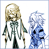 arabesque: Tales of Symphonia: Genis and Mithos talking happily (You were my sunshine.)