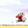 polarisnorth: baby thor riding on baby beta ray bill ([comics] tiny thor)