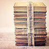 beautifulside: stack of books (books) (Default)