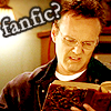 rebcake: Giles reads distasteful fanfic volume (btvs giles reads fanfic)