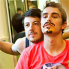 mistconduct: ([unmasked] bros and fake mustaches)