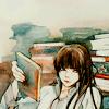 adevyish: Icon of Kanda holding a book (reading)