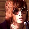 claudiometer: wearing ovoid-quarantine glasses (rhinestone shades or cheap sunglasses)