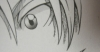 madimpossibledreamer: Eye from manga drawing. (edgeworth)