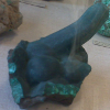 kaberett: Malachite structure strongly resembling cock & balls (geococks)