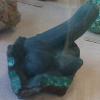 kaberett: Malachite structure strongly resembling cock & balls (geococks)