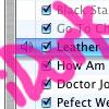 "vass: iTunes screencap, caption ""iDork"" (iDork)"