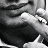 pennyplainknits: image of Tom Hardy smoking (oral fixation)