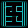 insoc: Information Society logo (IS - glow)