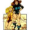 marveloncedaily: Magik - Storm&Illyana #02 (shadowcat&magik)