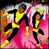 marveloncedaily: New Mutants (I) #012 (sunspot&wolfsbane)
