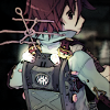 estirose: A teenager pays attention to the machine on his back. (Seto and PF - Fragile Dreams)