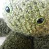 ureshiiichigo: crocheted green octopus (octo)