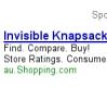 """vass: Google ad, advertising """"invisible knapsack"""" (Knapsack)"""