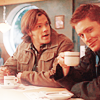 otaku_mama: Sam & Dean having a cupa (Coffee Time)