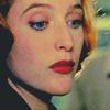 aurimae: close-up of scully's face, looking thoughtful (TXF: what do we have here)