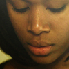 goodbyebird: Sleepy Hollow: Close-crop of Abbie Mills looking down. (SH you lied because you were afraid)