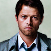 kate: Cas from S9 promo poster, looking sad and serious (SPN: Cas sad and serious)