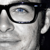 dramapunk: (Chris Glasses BW Blue)