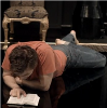 sophia_sol: Hamlet, as played by David Tennant, reading a book (Hamlet: Hamlet reading)