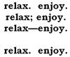 fflo: (relax & enjoy)