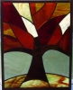 tehta: (stained glass tree)