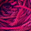 aquaprofunda: a close-up of pink yarn (yarn)