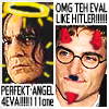 galateus: Severus Snape = PERFECT ANGEL 4EVA!!!111one; Harry Potter = OMG TEH EVAL LIKE HITLER!!! (snapefen)