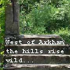 zodiacal_light: West of Arkham the hills rise wild... [stairs to the forest] (arkham)