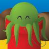 scaramouche: A cartoon octopus in a bucket. (dcbb 2013)