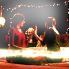 such_heights: willow and tara holding hands and doing magic (btvs: willow/tara)