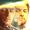 tinny: SPN Castiel looking at Dean (spn_deancastiel bright)