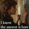 silveraspen: evie looking for the answer on the stone (mummy: the answer is here)