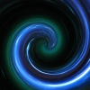 asenathwaite: green and blue spiral (scary)