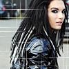 vahinkoelain: A picture of Bill Kaulitz, with his awesome dreadlocks (rasta!Bill 2009)