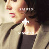"veleda_k: Regina from Once Upon a Time. Text says, ""Saints/Sinners"" (Once Upon a Time: Regina saints&sinners)"
