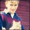 ambersweet: Boy with kitten (Elegant Lotus)