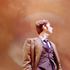 poulpette: Tenth Doctor looking away (DW - Ten)