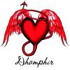 dhamphir: (dhamphir angelic devil heart)