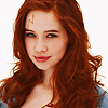 scrollgirl: anna popplewell with red hair and green eyes as harriet potter (hp girl!harry)