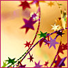 holidayhouse: colored stars by halowrites (colored stars by halowrites)