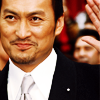 ineptshieldmaid: Ken Watanabe in a suit, smiling (used for Saito) (Inception - Saito/Ken Watanabe smiling)